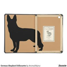 German Shepherd Silhouette Cover For iPad Air
