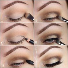 Everyday Step by Step Eye Makeup Tutorial