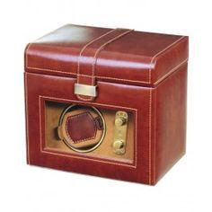 Cutie de ceasuri automatice, din piele - Dulwich Designs - printre cele mai bune idei de cadouri de Craciun pentru barbatii