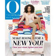 4-Yrs of O Magazine : Only $15 (reg. $72)  http://www.mybargainbuddy.com/oprah-magazine-subscription-9