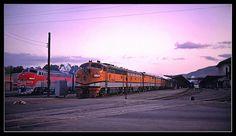 California Zephyr in Salt Lake City - 1969 California Zephyr, Rio Grande, Salt Lake City, Utah, Yards, Trains, Vacation, Ship, Vacations