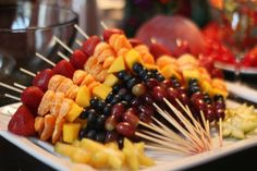 Healthy party snacks