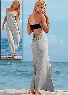 Maxi Dresses - One Shoulder, Strapless Maxi Dress & Sexy Open Back Maxi Dress Looks