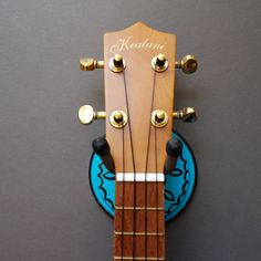 Instrument Wall Hanger Hook for Ukulele Fiddle by CathysCreatures