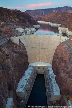Hover Dam, Lake Mead NRA, Nevada- Arizona. Beautiful place