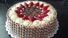 Cake Icing, Buttercream Cake, Eat Cake, Pretty Cakes, Beautiful Cakes, Amazing Cakes, Food Cakes, Cupcake Cakes, Cupcakes
