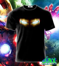 Playera o Camiseta Iron Man Eyes - Jinx