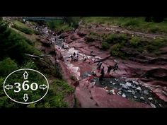 Cool 360 video of Red Rock Canyon in Waterton Lakes National Park Alberta Canada #hiking #camping #outdoors #nature #travel #backpacking #adventure #marmot #outdoor #mountains #photography