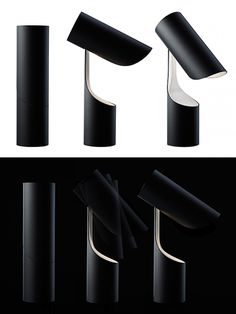 Mutatio Lamp     Dessi Ivanova, moddea.com      Mutatio celebrates the beauty of simplicity and minimalist geometry — a tube transforms into a beautiful table light. Made of steel, it's designed by Christian Troels for Le Klint. Continue reading →