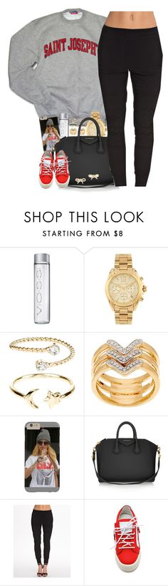 """unknown"" by nasiaswaggedout ❤ liked on Polyvore featuring Michael Kors, Accessorize, QVC, Givenchy, SELECTED, Giuseppe Zanotti and Kate Spade"