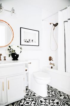 Bathroom: master bathroom ideas lovely diy bathroom renovation new 100 small master bathroom remodel ideas Bathroom Kids, Bathroom Renos, Bathroom Flooring, Bathroom Interior, Small Bathrooms, Luxury Bathrooms, Bathroom Black, Bathroom Cabinets, Bathroom Artwork