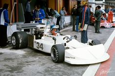 Hans Joachim Stuck, March 761 -Ford, #34, (RET-gearbox), Spanish GP, held at the Circuito del Jarama in Madrid, Spain on May 2, 1976.