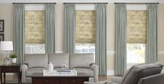 Get Roman Blinds from Majestic Curtains and Blinds