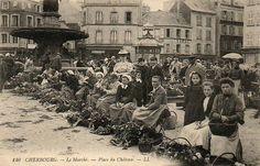 Cherbourg - Le Marché - Place du Château