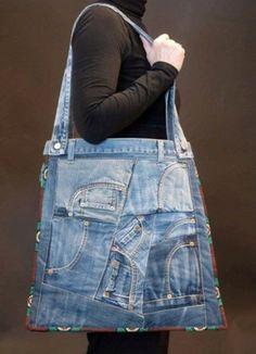 Сумки из джинсов (часть3) / Сумки, клатчи, чемоданы / ВТОРАЯ УЛИЦА