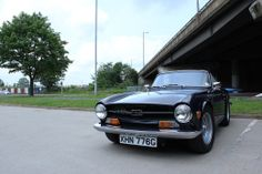 Triumph TR6 at the David Manners Group http://www.jagspares.co.uk/Abingdon/company.asp