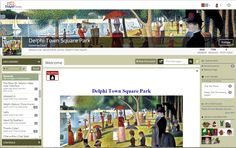 Hosts & designers can customize the looks of their forums.