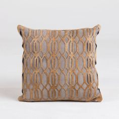 LATTICE GREY PILLOW - Pillows - Textiles - Accessories - HD Buttercup Online – No Ordinary Furniture Store – Los Angeles & San Francisco