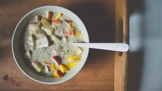 Chia Pudding http://www.wildandroots.com/recettes/chia-pudding