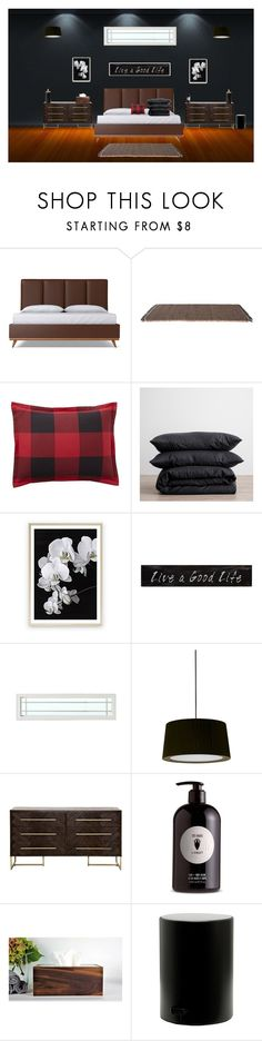 """""""Mark Silver's Bedroom (For Wattpad)"""" by sigh-n ❤ liked on Polyvore featuring interior, interiors, interior design, home, home decor, interior decorating, Kettal, Pottery Barn, 3R Studios and Santa & Cole"""