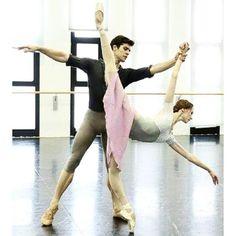<<Svetlana Zakharova and Roberto Bolle>>