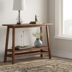 Products Haverhill Reclaimed Wood Konsolentisch mit Regal Braun - Schwelle Rather than purchasing ne Decoration Entree, Rustic Contemporary, Entryway Tables, Entry Table Diy, Rustic Console Tables, Diy Home Decor, Shelves, Table Decorations, Furniture