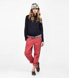 #penfield #womenswear #fashion #shirt #pants  http://www.urbag.cz/zajimava-damska-moda-zamorske-znacky-penfield-jaro-leto-2014/