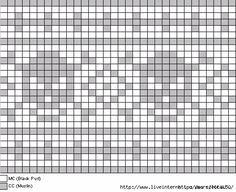 skull chart – Second Crafting - Knitting Charts Cross Stitch Skull, Cross Stitch Borders, Cross Stitching, Cross Stitch Embroidery, Cross Stitch Patterns, Knitting Charts, Loom Knitting, Knitting Stitches, Needlepoint Stitches