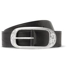 7ce926e43718 Lanvin - 4cm Black Leather Belt Black Leather Belt