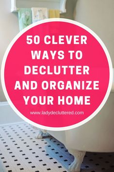 50 Clever Ways to Declutter and Organize Your Entire Home College Closet Organization, Organization Hacks, Organizing Ideas, Freezer Organization, Organising, Bathroom Organization, Spare Room Closet, Emotional Clutter, Declutter Your Life