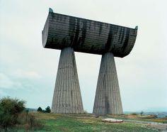 Abandoned WWII memorials, Former Yugoslavia.