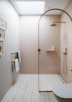 8 Luxury Bathroom Design Ideas To Inspire A pink children's ensuite bathroom with rose gold accents Bad Inspiration, Bathroom Inspiration, Bathroom Ideas, Bathroom Goals, Office Bathroom, Bathroom Trends, Bathroom Inspo, Bathroom Designs, Bathroom Interior Design