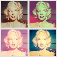 Andy Warhol Marilyn Monroe.