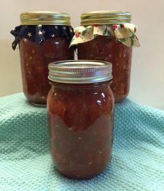 Homemade Salsa 3 jars 16 ounces each/Handmade