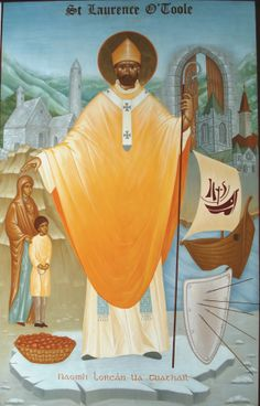 Saint of the Day – November 14 – St Laurence O'Toole/Lorcán Ua Tuathail-(1128-1180) Bishop #pinterest #stlaurenceotoole Lawrence was born in Ireland in 1128. He was the son of a chief. When he was only ten years old, a neighbouring king made a raid on his father's territory and carried him away. The............. St Lawrence, Saints, Princess Zelda, In This Moment, Ua, Catholic, Ireland, November, Father