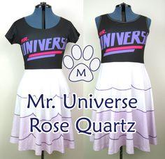 Rose Quartz Universe Steven Universe Skater Dress by MinZPrint