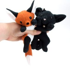 Welcome! For my full range of products, please visit my website at www.BeeZeeArt.com  This sewing pattern has the best of both worlds! The patterns and instructions to make both a fantastically floppy fox and a charmingly cuddly cat. These plushies are designed to be laying down and filled with beanie pellets for added weight.   Interested in other patterns? Save 20% when purchasing a pattern bundle: http://etsy.me/1HupFqg  Want to see more cute and cuddly products? Visit my website at…