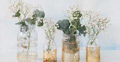 Vous vous souvenez du joli mariage de Marie-Laure et Mickaël et de leursravissants vases dorés ? Ils nous ont inspiré ce
