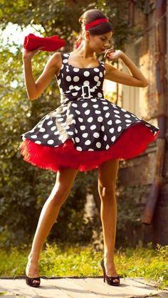 b66a1d133dd3e Die 19 besten Bilder von Kostüm 50 ger | Sew dress, Dress patterns ...