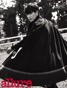 Park Hae Jin - Allure Magazine October Issue '15