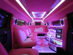2012 Pink 140-inch Hummer H3 Limousine for sale #1457