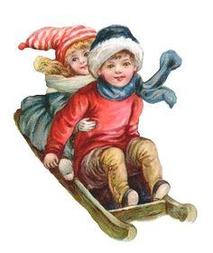 tube hiver enfants luge