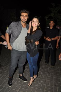 Arjun Kapoor & Alia Bhatt promote 2 States | PINKVILLA