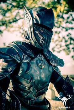 Skyrim's Ebony Armor - photoshot #2, picture 3 by Folkenstal on deviantART
