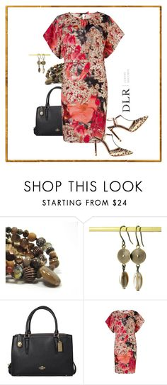 """""""www.dlrboutique.com"""" by jillsjoyagol ❤ liked on Polyvore featuring Coach, Ted Baker, Casadei and agiftoflaughterjewelry"""