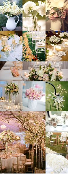romantic wedding decor - Google Search