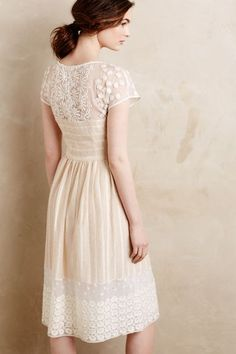 Poema Lace Dress - anthropologie.com #anthroregistry