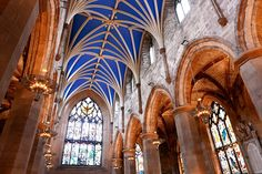 This stunning cathedral on the Royal Mile is dedicated to Saint Giles, the patron saint of Edinburgh, and was founded as early as 1124.