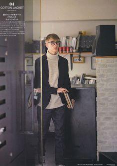 Dominik Sadoch for men's FUDGE Dope Fashion, Mens Fashion, Fashion Images, Preppy Style, Fashion Stylist, Studios, Street Wear, Casual Outfits, Normcore