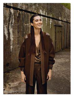 visual optimism; fashion editorials, shows, campaigns & more!: september: stefania ivanescu by sigurd grünberger for eurowoman september 2013